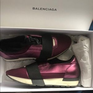 Pair of gently worn balenciaga sneakers